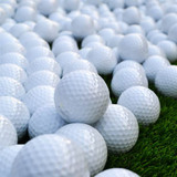 热销高尔夫空白球