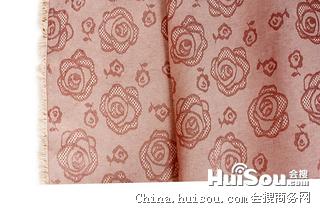 供应新款凉席面料 玫瑰花冰丝藤席面料 价格实惠  可批发 可定做