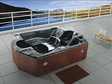 湘水供应SPA蒙娜丽莎按摩浴缸,湘水设备售后安装一体服务至上