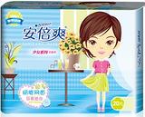 福建卫生巾品牌安倍爽卫生巾20片组合干爽网面