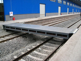 电动伸缩式跨桥