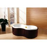 上海湘水按摩浴缸X-2007,按摩浴缸设计,按摩浴缸图纸,供