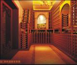 东莞帝柯恒温酒窖设计实木恒温酒柜