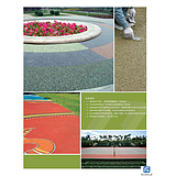 PS生态透水砼地面 CS彩色透水砼路面 厂家供应彩色生态透水砼