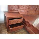 上海老红木床头柜回收徐汇区老红木梳妆台回收