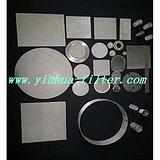 供应各种规格烧结网滤片、不锈钢网片