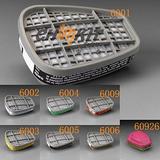 供应东莞3M滤毒盒滤盒珠海3M6006滤毒盒滤棉滤罐正品保证
