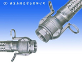 內錐管螺紋接頭拉桿式快速接頭式金屬軟管