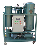 PLC自动控制汽轮机油透平油滤油机(汽轮机在线油净化装置)