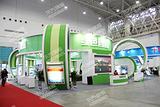 武汉展览公大型企业营销展台展示布置