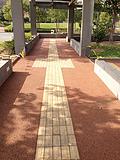 盼石厂家特惠 创新型艺术性高透水地面生态透水混凝土