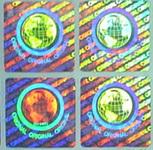 山东激光镭射防伪标签、综合防伪商标 酒类防伪贴纸