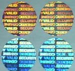 广西激光镭射标贴,光聚合防伪商标 电器防伪镭射标签