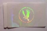 透明防伪标签,透明激光商标,透明镭射标志