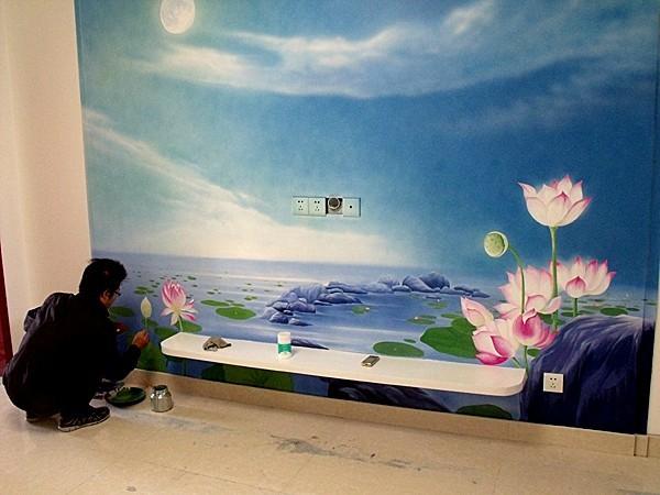 上海墙体彩绘公司 手绘墙壁画
