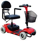 瑞可电动代步车3431四轮电动代步车电动休闲车可折叠单座