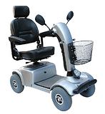 威之群电动代步车4025赛影豪华中型老人代步车电动助动车进口配置