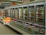 (新款)双温子母柜,超市双温展示冷柜,冷藏冷冻一体柜,上海子母柜