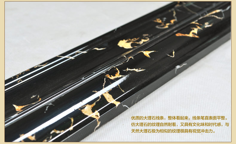 125 1成品仿真大理石线条报价 室内装修腰线门套厂家