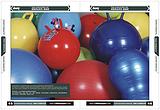 防爆健身球、手提式跳跳球、珠光球、羊角球