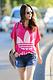 2014新款 大版宽松中长款卡通上衣大码 短袖T恤女装休闲大版t恤