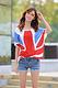 2014夏新款女装 韩版宽松休闲大版短袖T恤 印花大版中长款t恤