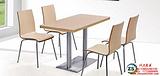 供应肯德基曲木餐桌椅定做价格