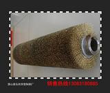 供应缠绕式精细打磨铜丝刷辊 按图纸定做在潜山县弘欣异型制刷厂
