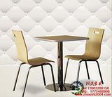 供应贺州定做快餐厅曲木餐桌椅尺寸,广州餐厅家具