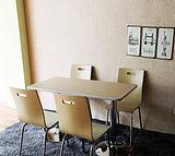 供应南宁定制餐厅家具曲木餐桌椅价格