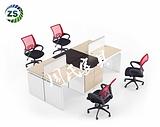供应商丘定做办公家具新款职员办公桌价格,广州办公家具厂