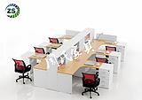 供应鹤壁定制办公家具职员办公卡位尺寸,广州办公家具厂