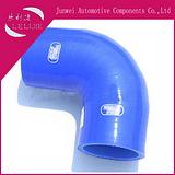 45度出口硅胶管,耐高温硅胶管,SAMCO硅胶管  钢丝加布硅胶