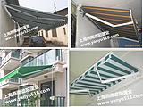 上海松江户外遮阳篷 电动伸缩遮阳篷 手摇棚 高档法式雨棚 帐篷