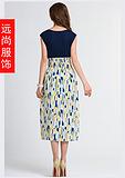 承接订制时尚连衣裙批发加工印刷服装T恤衫促销批发