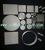 专业生产各种规格烧结网滤片、不锈钢网片