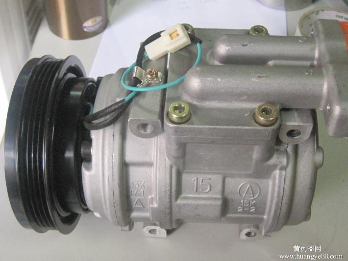 日立zx360挖掘机空调压缩机,挖掘机空调压缩机