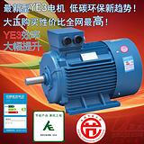 使用优质电机材料制作超高效YE3电机,大正优惠推出