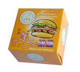 食品纸盒包装|雄县汉堡食品纸盒