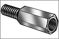 双向隔离柱|中空隔离柱|H59隔离柱|阴阳隔离柱