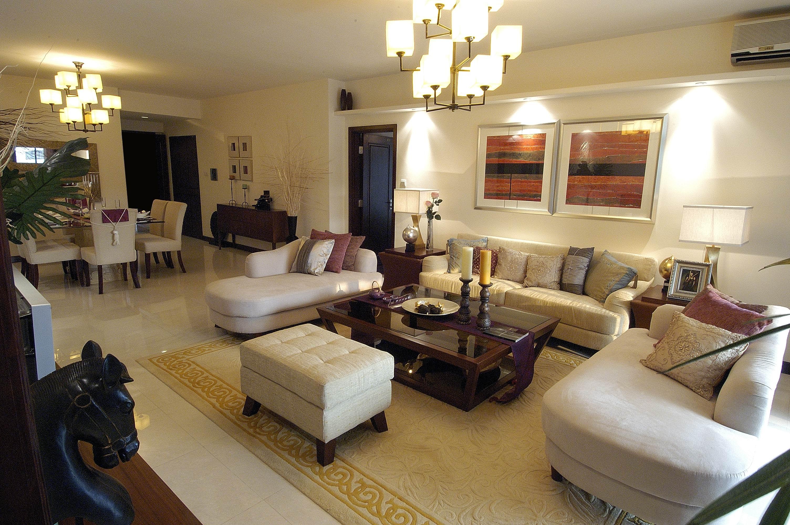 烟台家庭装修设计公司科瑞装饰 欧式美式现代风格效果图