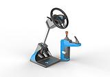 智能学车之星汽车驾驶训练机 低投资 高回报