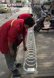 北京昌平区挡车器安装圆形自行车架专业安装销售公司68605767