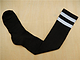 长筒运动袜足球袜男 毛巾底足球袜 长筒 纯色长筒足球袜