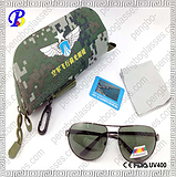 中国空军飞行员专用防护眼镜|飞行员墨镜定做