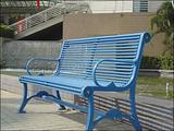 【厂家销售】休闲椅 钢制休闲椅  钢木制休闲椅 户外休闲椅