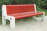 【厂家直销】休闲椅 钢制休闲椅 钢木制休闲椅