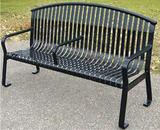 厂家直销  休闲椅 户外休闲椅 钢制休闲椅 钢木制休闲椅