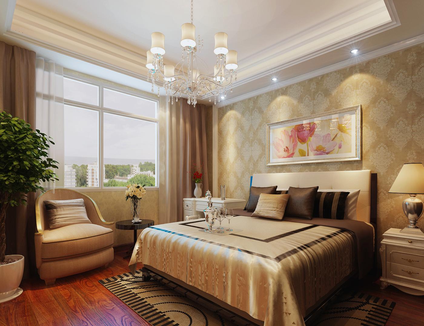 烟台家庭装修设计公司科瑞装饰 欧式美式现代风格效果