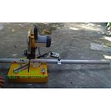 远信晶钢门铝材90度45度精准手提式切割机